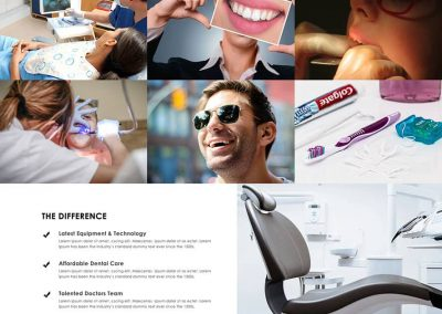 dental clinic website design
