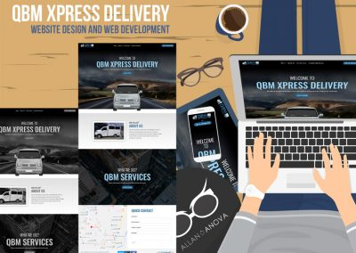 QBM Xpress Delivery Website